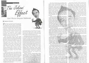 The Jokowi Effect dan Masa Depan Dawah