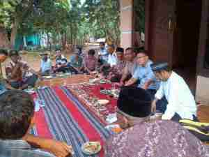 Pertemuan dg warga Desa Mangunjaya Tamsel_ Subhanallah masyarakat banyak memberi masukan.