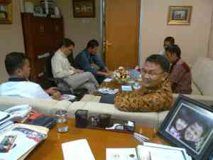 Rapat khusus di DPR...